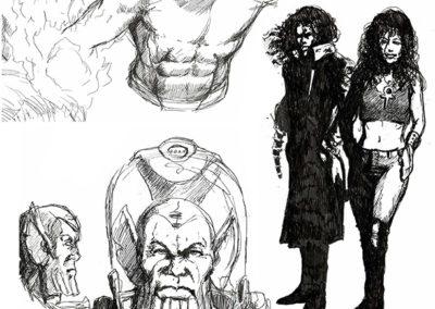 Skrulls, Sandman and Death