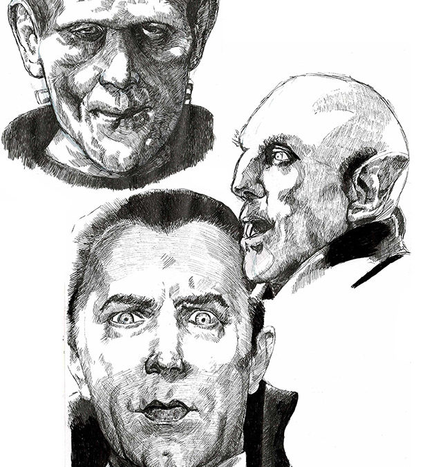 Frankenstein and Vampires