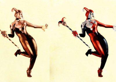 Harley Quinn evolution