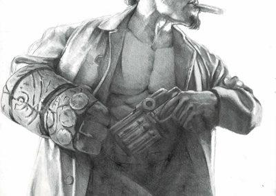 Hellboy Study