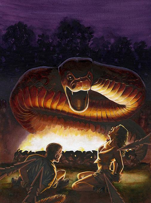 Man Bait for Snake Devil