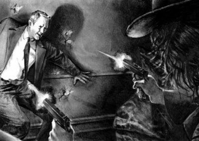The Spider: Satan's Seven Swordsmen pages 62-63
