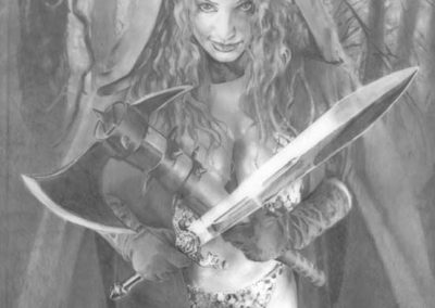 Forest Red Sonja